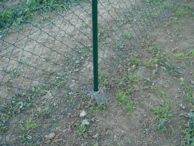 Zemní vruty pro ploty